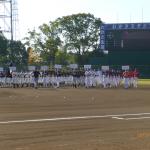 都市間交流R-9軟式野球大会2015入場行進