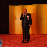 40周年祝賀会 中村名誉会長乾杯のご挨拶