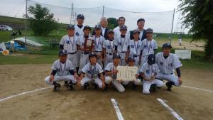 2017第35回知事旗学童準優勝 桂川ベルクラブジュニア