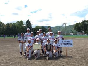 佐川印刷旗第11回近畿秋季学童軟式野球大会準優勝 桂坂ファルコンズ