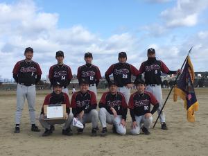 2018西日本B級優勝 リーフリッジ