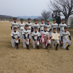 2017市長杯中学優勝 篠少年野球クラブ