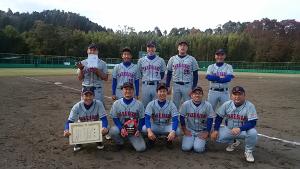 第67回京都市社会人総体準優勝 たけびしシャインズ