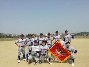 2019.4.7理事長杯ABC級(2018)優勝 たけびしシャインズ