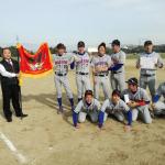 2019.11.24理事長杯ABC級優勝 たけびしシャインズ